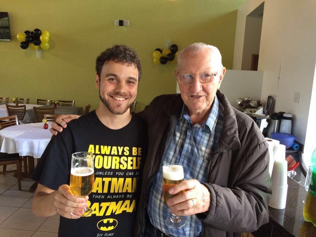 Celebrando meu avô Luciano Osinski