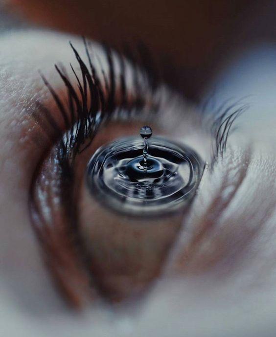 Olhos de Cristina