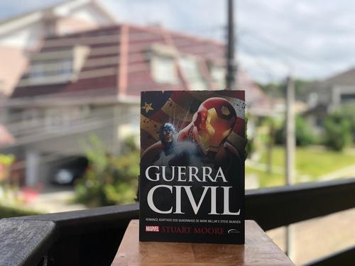 Se você gosta de super-heróis, precisa ler 'Guerra Civil'