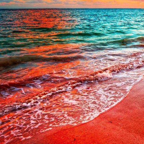 O repouso da areia